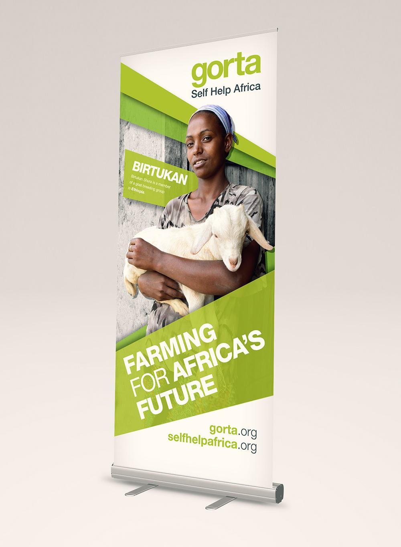Gorta-Self Help Africa hero banner green