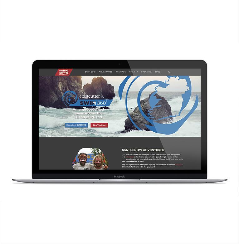 Sand2Snow Adventures website