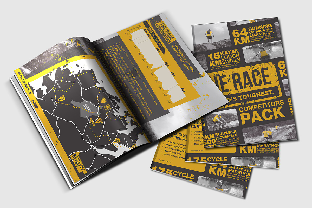 The Race Donegal Brochure mock-up