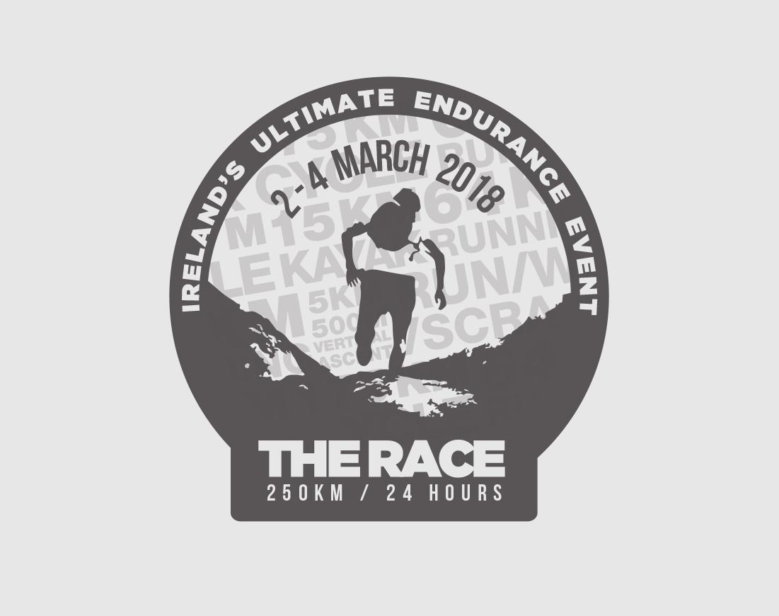 The Race donegal shield motif